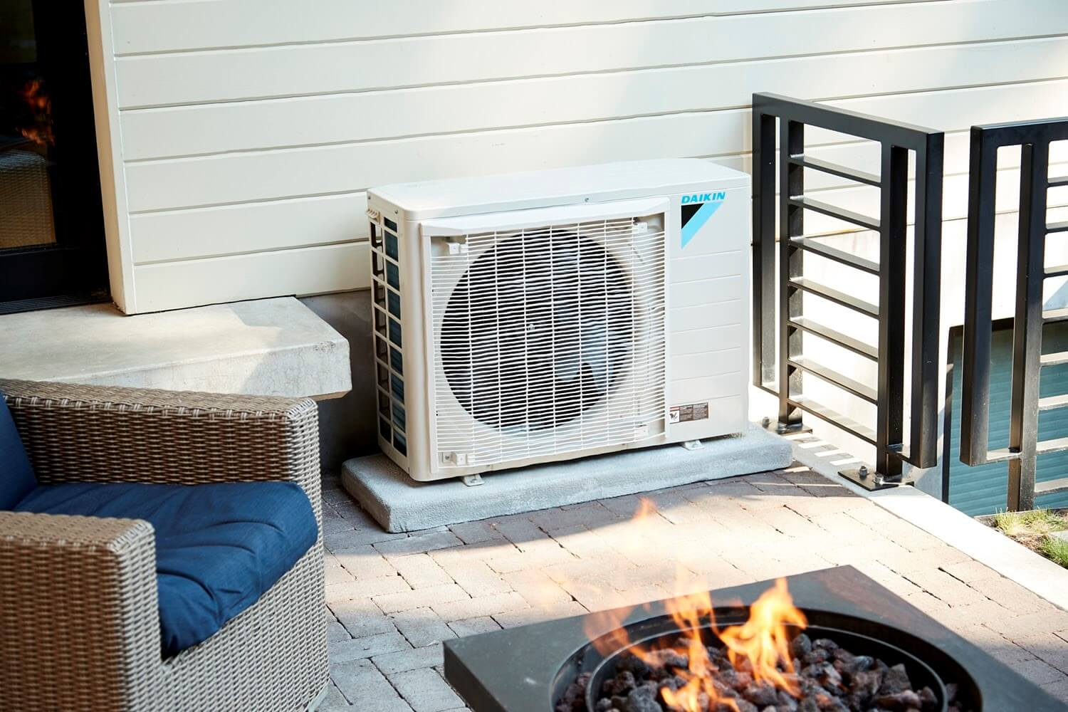 Enjoy Silent Air Conditioning Inside and Outdoors with Daikin Fit