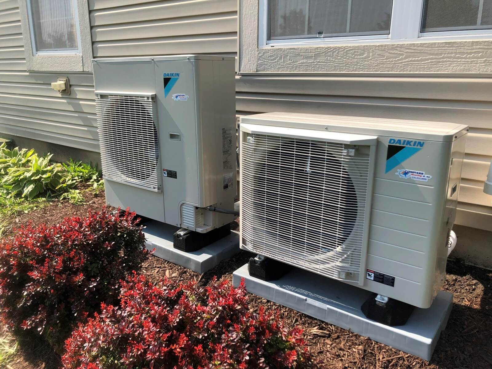 Even if you need 2 condensers, it takes up so much less space because of the size and design