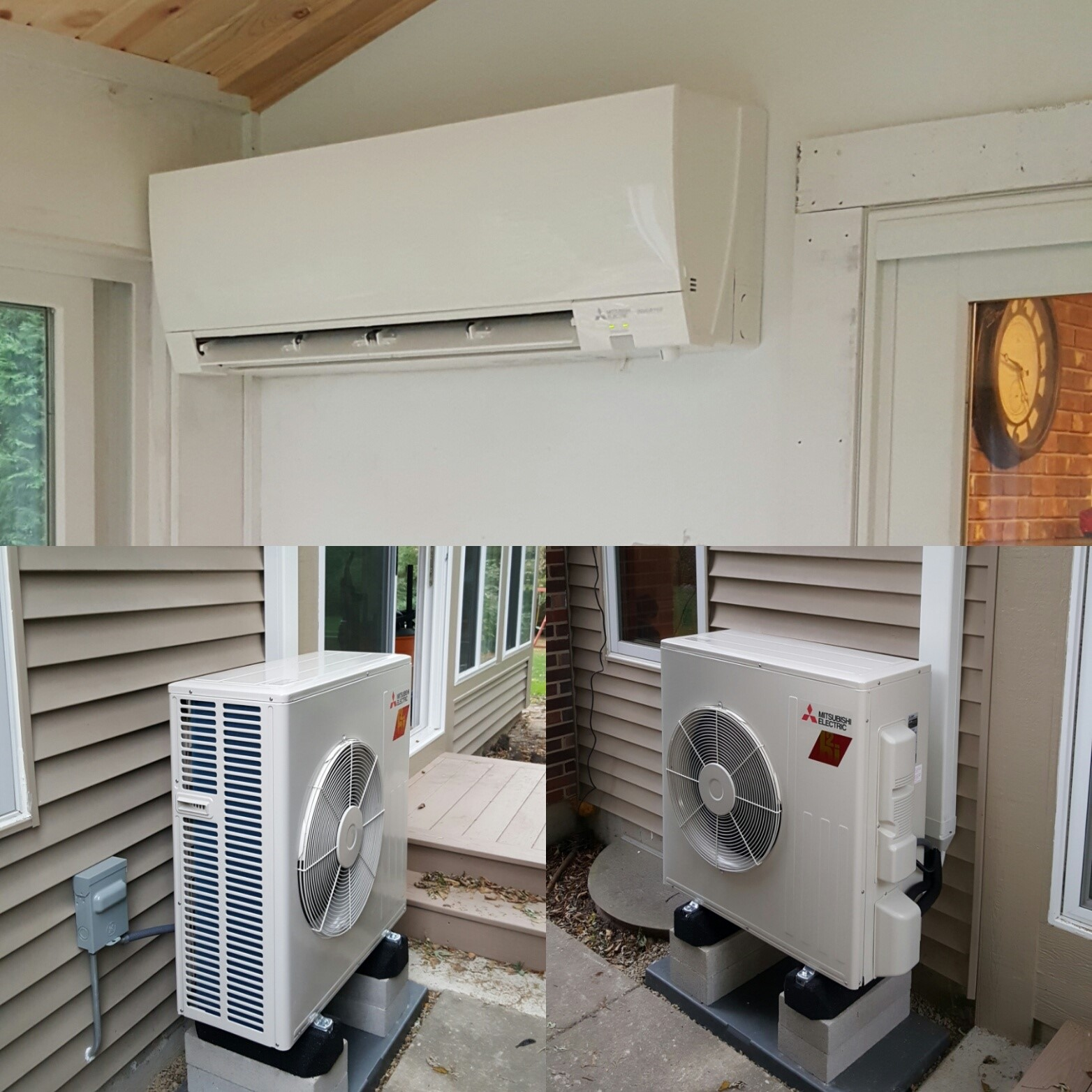 Ductless Heat And Air Conditioning In New Palatine Il Sunroom